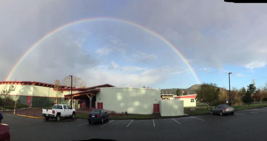 Rainbow over Gordon Head