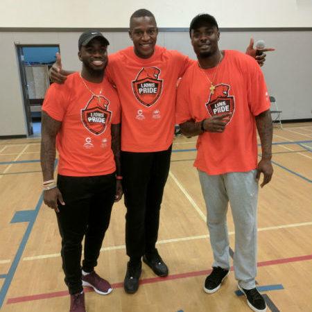 BC Lions Pride – Stephen Adelkolu, Steven Clarke & Dyshawn Davis
