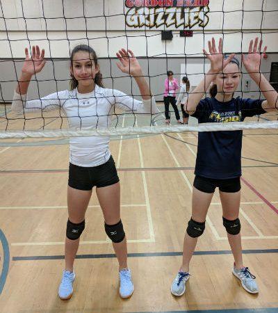 Volleyball practice. #Blockers