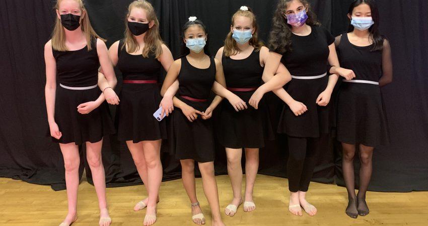 Grade 8 Dancers